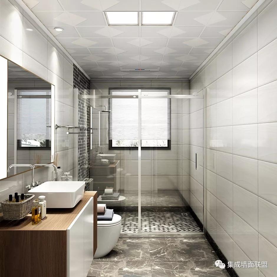 厨房、卫生间也能装集成墙面?真的假的?